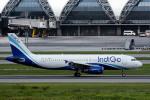 planetさんが、スワンナプーム国際空港で撮影したインディゴ A320-200の航空フォト(写真)