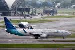 planetさんが、スワンナプーム国際空港で撮影したガルーダ・インドネシア航空 737-8U3の航空フォト(写真)