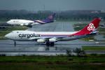 planetさんが、スワンナプーム国際空港で撮影したカーゴルクス 747-4R7F/SCDの航空フォト(写真)