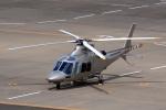 ドリさんが、福島空港で撮影した日本法人所有 AW109SPの航空フォト(写真)