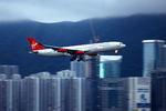 santaさんが、啓徳空港で撮影したヴァージン・アトランティック航空の航空フォト(写真)
