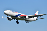 saoya_saodakeさんが、成田国際空港で撮影したマレーシア航空 A330-323Xの航空フォト(写真)