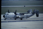 鯉ッチさんが、嘉手納飛行場で撮影したアメリカ海軍 C-2A Greyhoundの航空フォト(写真)