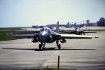 鯉ッチさんが、嘉手納飛行場で撮影したアメリカ海兵隊 A-6B Intruder (G-128)の航空フォト(写真)