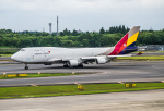 HND_fanさんが、成田国際空港で撮影したアシアナ航空 747-48EM(BDSF)の航空フォト(写真)