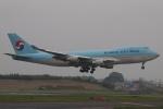 木人さんが、成田国際空港で撮影した大韓航空 747-4B5F/ER/SCDの航空フォト(写真)