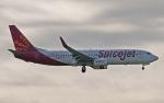 hs-tgjさんが、スワンナプーム国際空港で撮影したスパイスジェット 737-8GJの航空フォト(写真)
