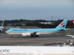 た~きゅんさんが、成田国際空港で撮影した大韓航空 747-8B5F/SCDの航空フォト(写真)