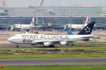 szkkjさんが、羽田空港で撮影したタイ国際航空 747-4D7の航空フォト(写真)