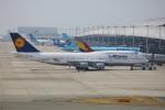 garrettさんが、関西国際空港で撮影したルフトハンザドイツ航空 747-430の航空フォト(写真)
