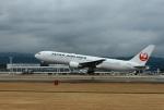 garrettさんが、熊本空港で撮影した日本航空 767-346/ERの航空フォト(写真)