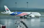 Ken_heartさんが、クアラルンプール国際空港で撮影したマレーシア航空 A350-941XWBの航空フォト(写真)