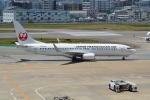 LEGACY-747さんが、福岡空港で撮影した日本トランスオーシャン航空 737-8Q3の航空フォト(飛行機 写真・画像)