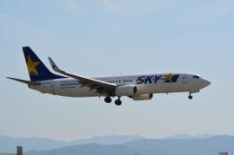 LEGACY-747さんが、福岡空港で撮影したスカイマーク 737-82Yの航空フォト(写真)