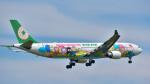 パンダさんが、成田国際空港で撮影したエバー航空 A330-302Xの航空フォト(写真)