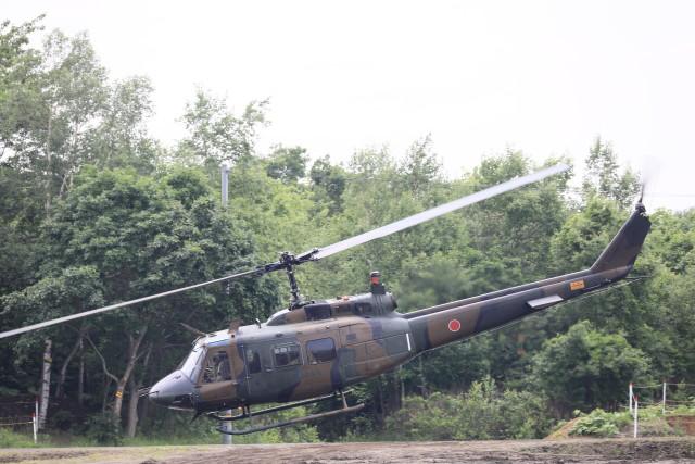 モモさんが、北千歳駐屯地で撮影した陸上自衛隊 UH-1Jの航空フォト(飛行機 写真・画像)