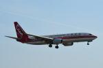LEGACY-747さんが、福岡空港で撮影した中国聯合航空 737-89Pの航空フォト(飛行機 写真・画像)