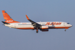 mameshibaさんが、成田国際空港で撮影したチェジュ航空 737-8ASの航空フォト(写真)