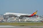 LEGACY-747さんが、福岡空港で撮影したアシアナ航空 A350-941XWBの航空フォト(写真)