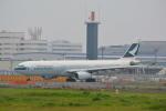 LEGACY-747さんが、成田国際空港で撮影したキャセイパシフィック航空 A330-343Xの航空フォト(写真)