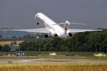 EarthScapeさんが、チューリッヒ空港で撮影したスパンエアー MD-82 (DC-9-82)の航空フォト(写真)