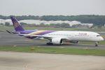 cassiopeiaさんが、成田国際空港で撮影したタイ国際航空 A350-941XWBの航空フォト(写真)
