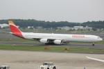 cassiopeiaさんが、成田国際空港で撮影したイベリア航空 A340-642Xの航空フォト(写真)