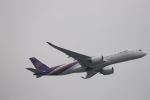 kikiさんが、成田国際空港で撮影したタイ国際航空 A350-941XWBの航空フォト(写真)