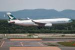 KAMIYA JASDFさんが、新千歳空港で撮影したキャセイパシフィック航空 A330-343Xの航空フォト(写真)