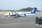 大島空港 - Oshima Airport [OIM/RJTO]で撮影されたANAウイングス - ANA Wings [EH/AKX]の航空機写真