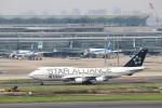 ハム太郎。さんが、羽田空港で撮影したタイ国際航空 747-4D7の航空フォト(写真)