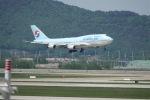 まえこーさんが、仁川国際空港で撮影した大韓航空 747-4B5の航空フォト(写真)