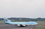 よんすけさんが、成田国際空港で撮影した大韓航空 747-4B5F/ER/SCDの航空フォト(写真)