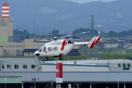 しんさんが、仙台空港で撮影した東北エアサービス BK117B-2の航空フォト(飛行機 写真・画像)