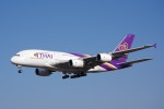 chappyさんが、成田国際空港で撮影したタイ国際航空 A380-841の航空フォト(写真)