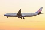 mameshibaさんが、成田国際空港で撮影したチャイナエアライン A330-302の航空フォト(写真)