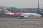 masa707さんが、チャトラパティー・シヴァージー国際空港で撮影したエア・インディア・エクスプレス 737-8HGの航空フォト(写真)