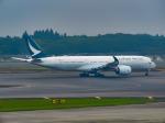 万華鏡AIRLINESさんが、成田国際空港で撮影したキャセイパシフィック航空 A350-941XWBの航空フォト(写真)