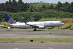 sumihan_2010さんが、成田国際空港で撮影したユナイテッド航空 737-824の航空フォト(写真)