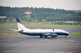 よんすけさんが、成田国際空港で撮影したサウジアラビア企業所有 737-9FG/ER BBJ3の航空フォト(飛行機 写真・画像)