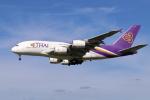 sumihan_2010さんが、成田国際空港で撮影したタイ国際航空 A380-841の航空フォト(写真)