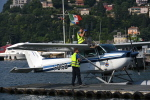 cornicheさんが、Water Aerodrome of Lake Comoで撮影したAero Club Como 172P Skyhawkの航空フォト(写真)