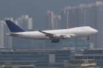 プルシアンブルーさんが、香港国際空港で撮影したアエロトランスカーゴ 747-412F/SCDの航空フォト(写真)