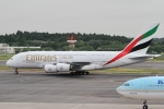 dh9671さんが、成田国際空港で撮影したエミレーツ航空 A380-861の航空フォト(写真)