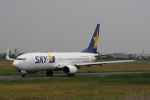 kunimi5007さんが、仙台空港で撮影したスカイマーク 737-81Dの航空フォト(写真)
