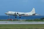 チャッピー・シミズさんが、那覇空港で撮影した海上自衛隊 P-3Cの航空フォト(写真)