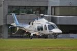 筑波のヘリ撮りさんが、つくばヘリポートで撮影した日本デジタル研究所(JDL) AW109SPの航空フォト(写真)