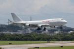 チャッピー・シミズさんが、嘉手納飛行場で撮影したカリッタ エア 747-4B5(BCF)の航空フォト(写真)