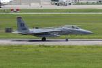 チャッピー・シミズさんが、嘉手納飛行場で撮影したアメリカ空軍 F-15C Eagleの航空フォト(写真)