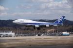 空旅さんが、福島空港で撮影した全日空 747-481(D)の航空フォト(写真)